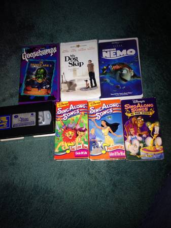 Kids VHS -   x0024 4  San Angelo