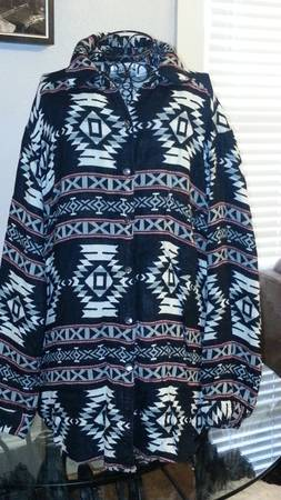 CHICO S Aztec print shirt size 3  large  -   x0024 15  San Angelo