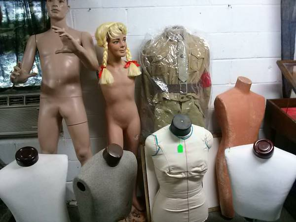 Several Manniquins and Display Busts For SALE  San Angelo