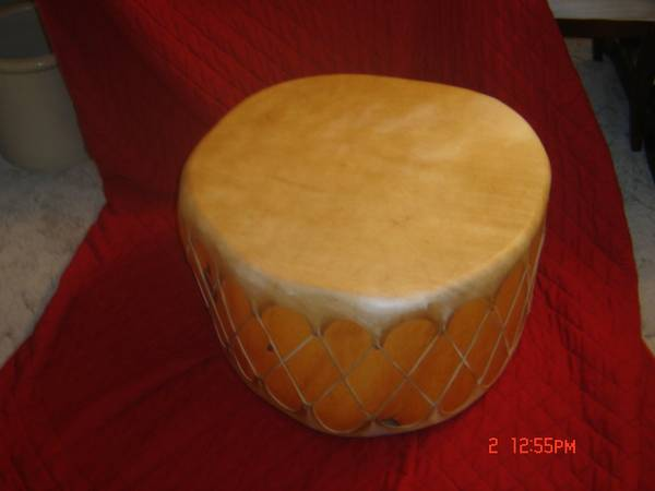 Native American Drum-COLLECTIBLE - x0024450 (San Angelo)