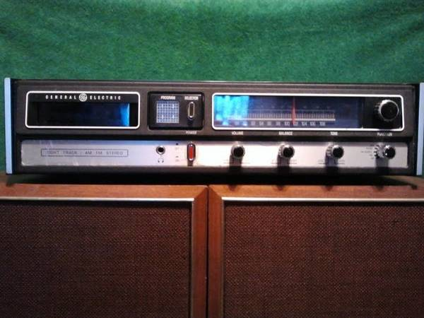 2 Vintage Panasonic SB-66 Speakers General Electric AM FM 8 Track - $50 (Grape Creek)