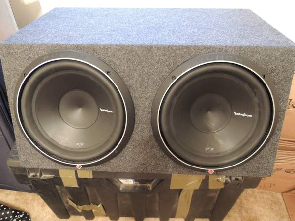 Rockford Fosgate P2D2 12 and Prime 500.1 Amp - $400 (San Angelo, TX)