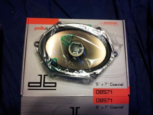 BRAND NEW 5X7 POLK AUDIO MARINE CERTIFIED - $100 (SAN ANGELO)