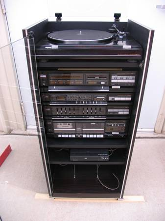 LXI series stereo cabinet - $125 (San Angelo)