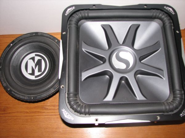 SUBWOOFERS AMPLIFIERS (San Angelo)