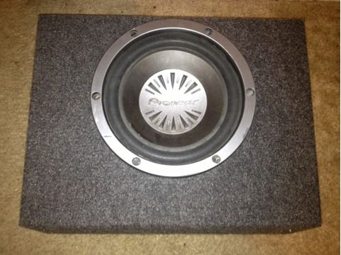 Pioneer Subwoofer 10 (with enclosure) - $80 (San Angelo, Tx)
