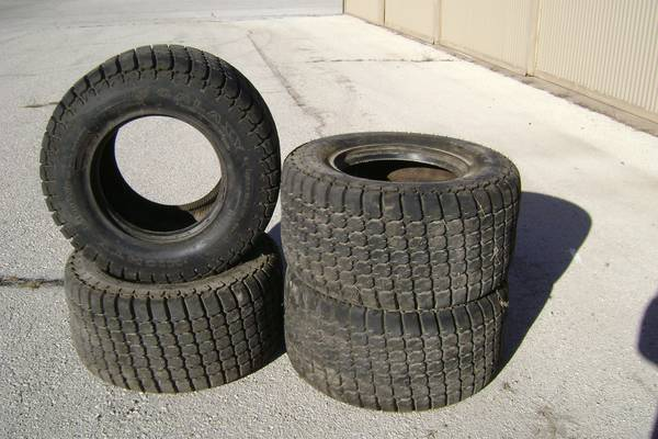 Galaxy turf tires for a Skid Steer - x00241200 (Merkel)