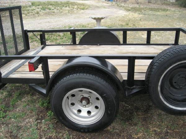 5x9 utility trailer with r gate - x0024900 (san angelo)