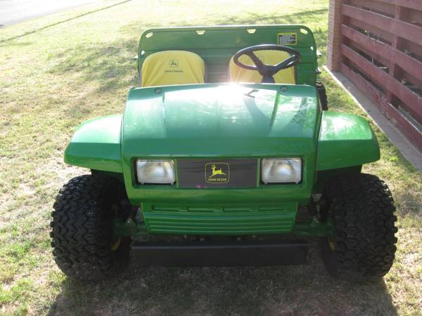 JOHN DEERE GATOR GREAT SHAPE (ABILENE)