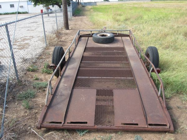 18 foot utility trailer - $550