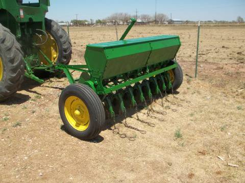 John Deere grain drills ( food plot for deer lease) - $1700 (Lubbock, Texas)