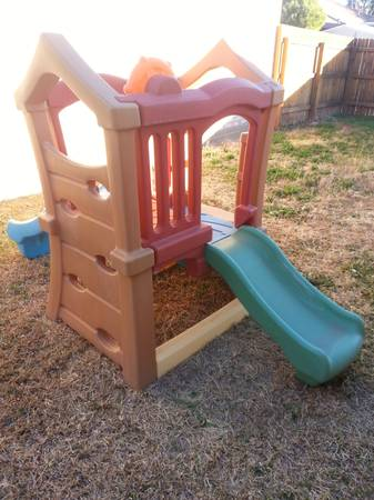 Play Up Double Slide Climber  -   x0024 140  green meadow dr