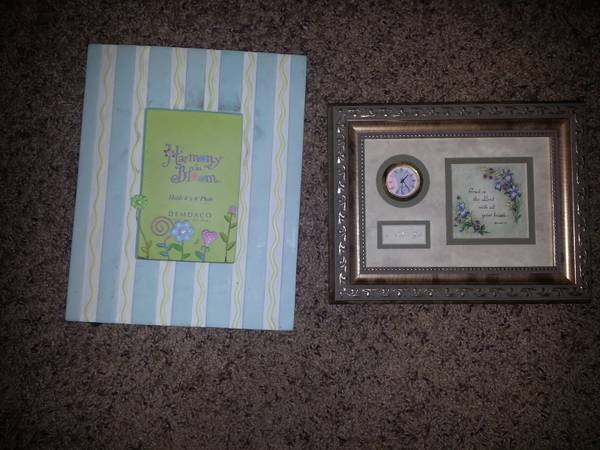 cute picture frame and wall plaque -   x0024 5  san angelo