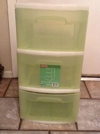 Plastic Drawers - $7 (San Angelo)