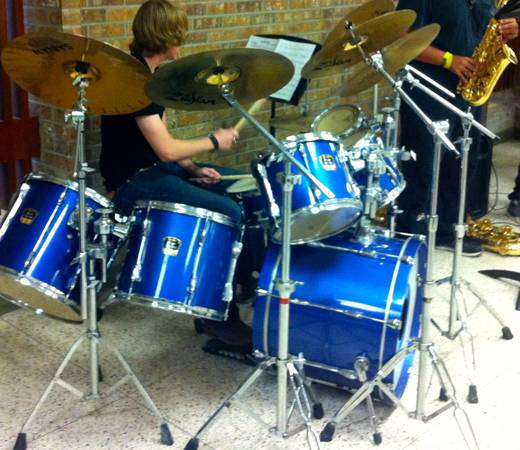 Yamaha Stage Custom Advantage Drum Set - $2000 (Ballinger, TX)