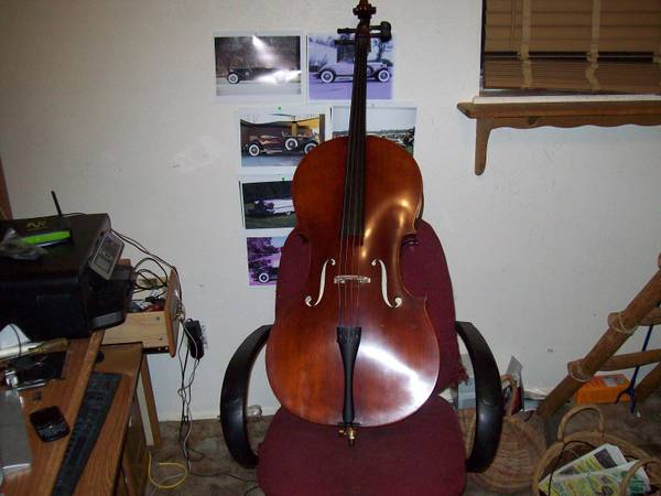 4X4 CELLO 2011 Samuel Eastman Top of the line VC-105 SERIES LIKE NEW - $795 (abilene sweetwater area)
