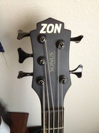 Zon Sonus 519 Bass Guitar - $2300 (Goodfellow AFB)