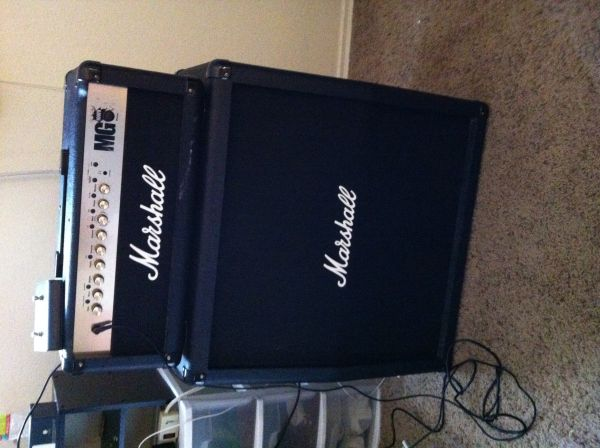 Marshall MG 100FX Amp - $400 (San Angelo, Texas)