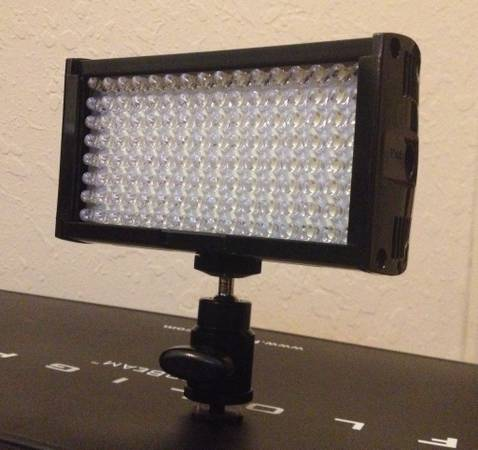 Pro Video LED Camcorder Light  adjustable power  -   x0024 175  Abilene