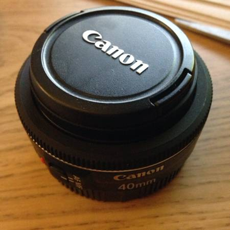 Canon 40mm lens  amp  320EX flash   San Angelo