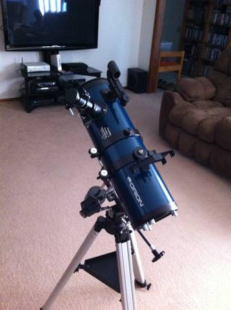 Orion StarBlast 4 5 Equatorial Reflector Telescope Kit -  475  San Angelo