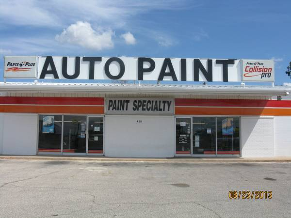Full Time  Sales Clerk Delivery Driver  Parts Plus Paint Specialty    San Angelo  Tx