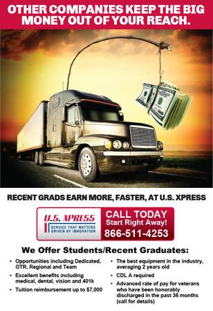 Student or Recent Graduate CDL A Truck Driver Needed  We have the opportunity fo  San Angelo