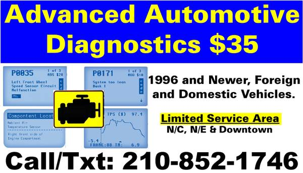 NOW OPEN For BUSINESS - Advance Automotive Diagnostics  N E  N C  amp  Downtown