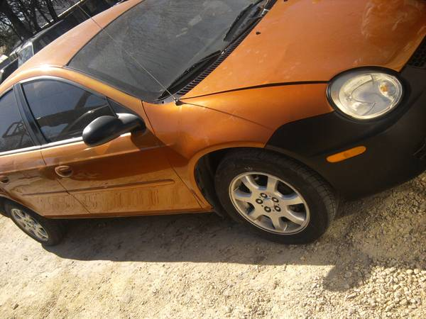 2005 dodge neon - clear title - ac - radio - automatic - nice - orange  san antonio-4dr-4cylinder