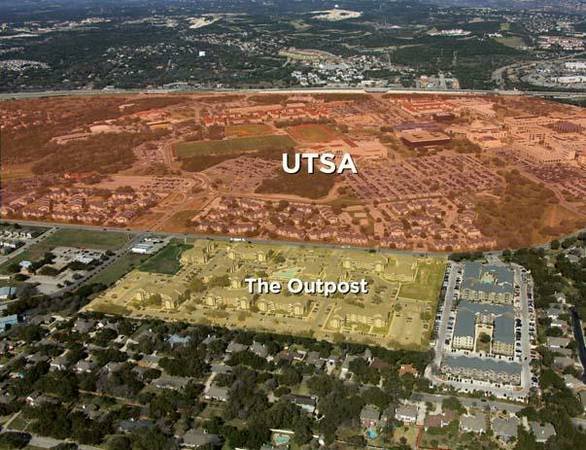 - $624 Room for utsa students (the outpost apts.)