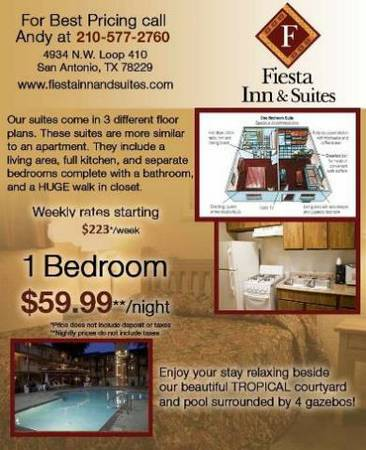 x0024 223   1br - 250ft sup2  - CONTRACTOR SPECIAL-FURNISH 1BDRM -NO CONTRACTS-EASY MOVE TODAY   410 AND Callaghan