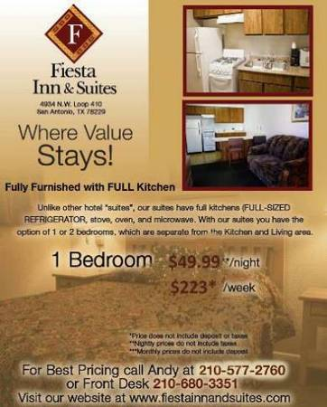 x0024 223   1br - TEMP AND SPACIOUS  for 1 or a few--- FURNISHED BILLS PD  223  WK  NW 410