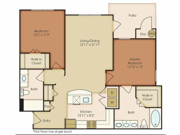 x0024 650   2br - 1053ft sup2  - Roommate needed for Sublet in the Shavano Park area  Shavano Park