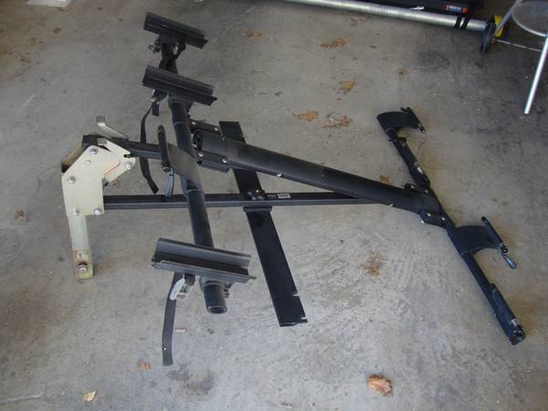 Draftmaster Bike Rack with Tandem Attachment - $600 (Downtown)