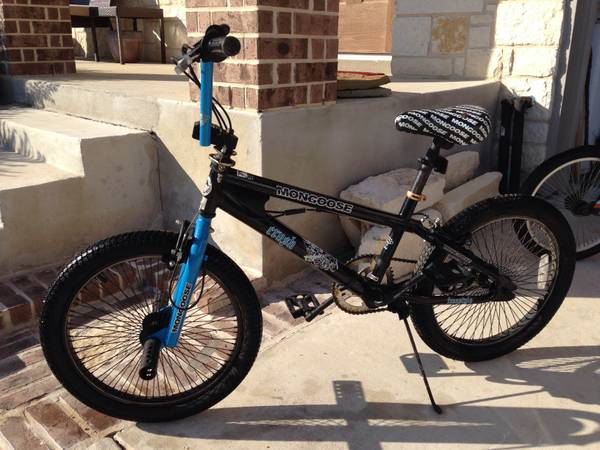 Boys Mongoose BMX Bike- 20-in wheels - $40 (Converse)