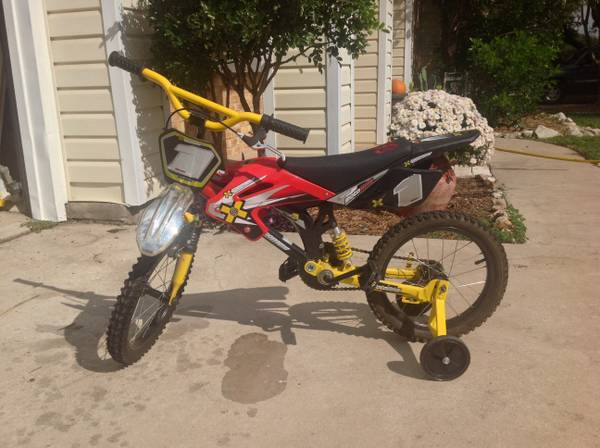Boys Bike 16 X-Games BMX Motobike - $40 (Stone Oak 281 North)