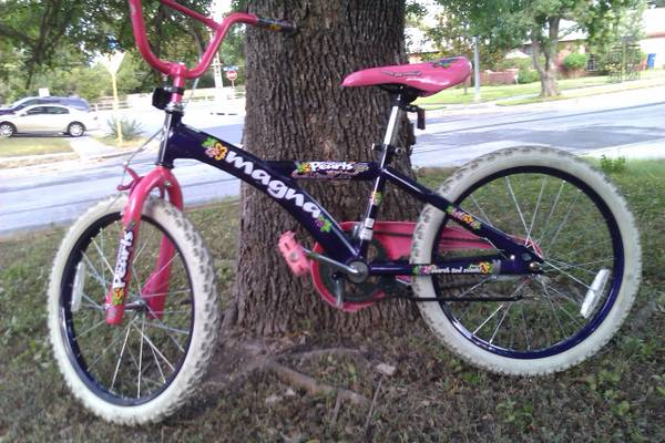 GIRLS 20 INCH MAGNA PRECIOUS PEARLS BIKE - $45 (NW SA)