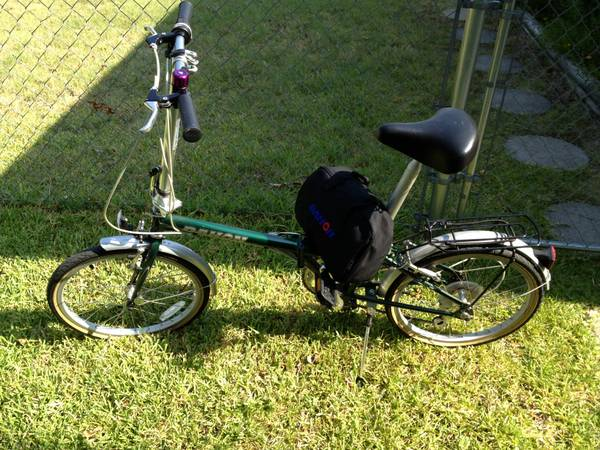 DAHON 20 folding bike and backpack case - $200