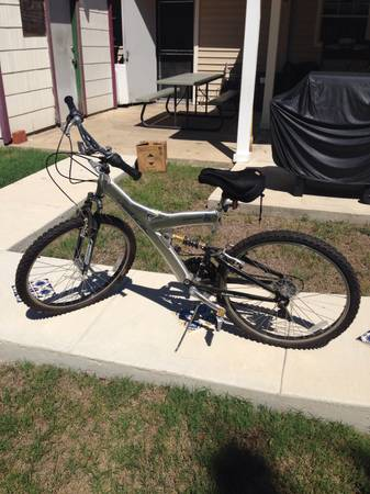 Vertical Mountain Bike - $100 (Sea World)