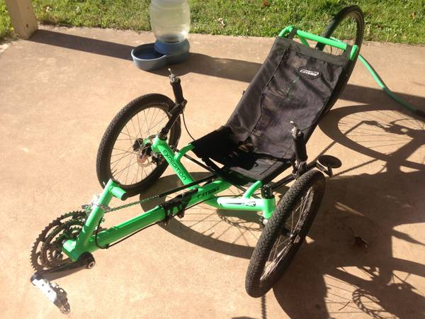 Catrike expedition Recumbent trike (Austin)