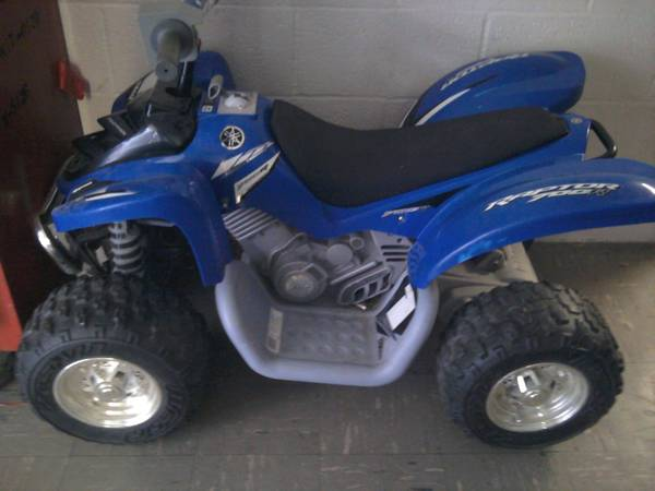 Electricyamaha 4 wheelerby  power wheels - $100 (san antonio)