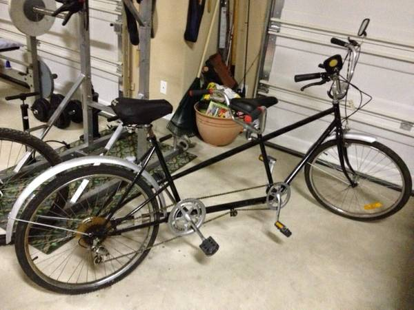 Vintage Tandem Bicycle--2 Seater -   x0024 175  Cibolo