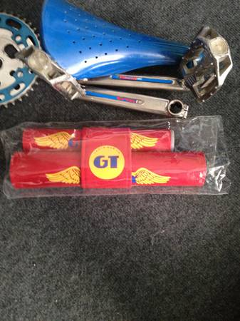 Old School Red GT Pad Set For 1980s GT BMX - $58 (San Antonio, TX)