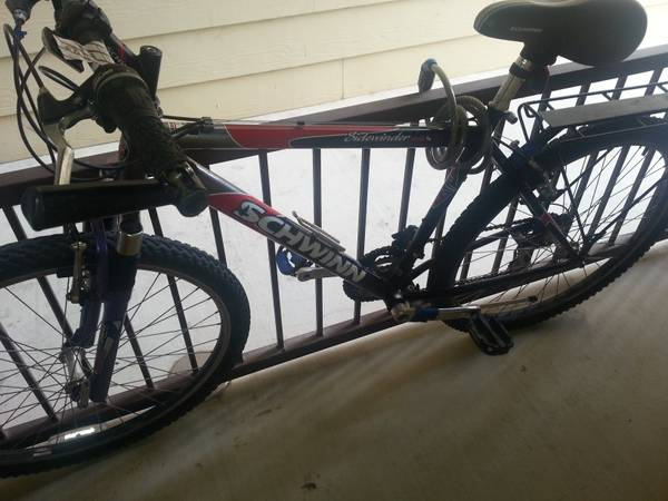 Schwinn Sidewinder 2.6Fs men 26 bike - $60 (san antonii)