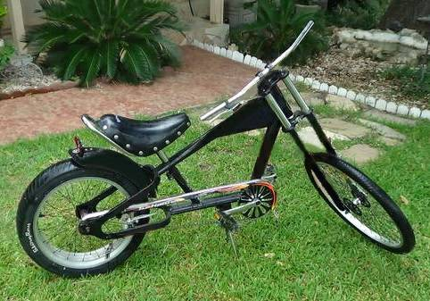 SCHWINN STINGRAY OCC CHOPPER BICYCLE - $200 (NORTH SAN ANTONIO TX)