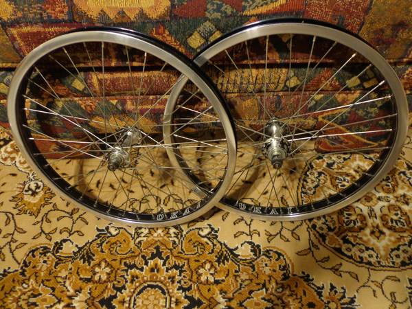 UKAI shiny side speedline hoops Suzue hubs old school bmx - $110 (s.a.)