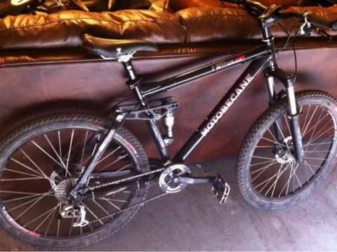 2009 full suspension motobecane - $850 (nwsa)