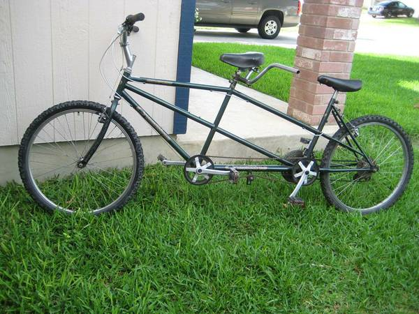 Tandem bike Crestline, Huffy cruiser bike - $95 (NE)