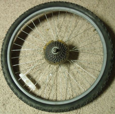 BMX or Mountain bike wheel tire .. 20 and 24 inch wheels n tires (Schertz 3009)