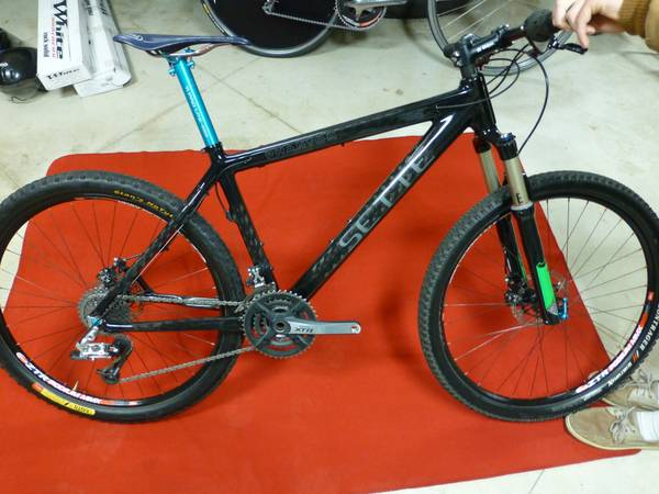 Sette Phantom Carbon Mountain Bike Super Custom 17 17.65 lbs US Natl - $1595 (Fair Oaks Ranch)